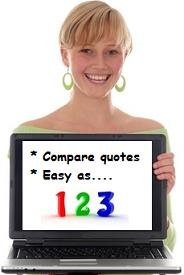 Compare quotes as easy as 123!