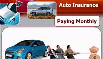 Monthly Auto Insurance with Low or No Down Payment